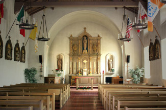Chapel Interior. Photo by Kristie Lauborough.