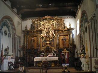 Mission church interior.  Photo by Kurpfalzbilder.de.
