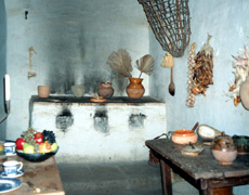 Furnishings and artifacts at La Purísima give a good picture of life at the mission.