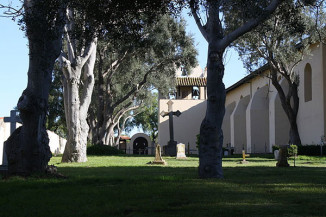 Mission cemetary. Photo by TDRSS.