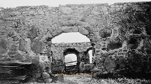 Remains of the Santa Margarita Asistencia, circa 1936