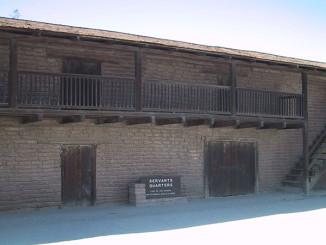Adobe building, part of Vallejo's Casa Grande, near the mission.