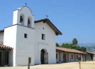 Santa Barbara Presidio.  Built circa 1782;, restored in the 1990s.